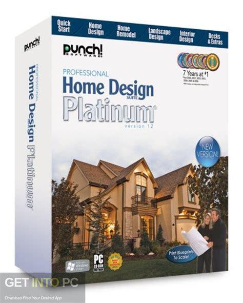 punch professional home design suite platinum