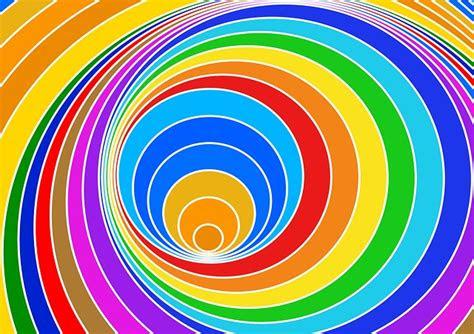 illustration spiral eddy color vortex strudel