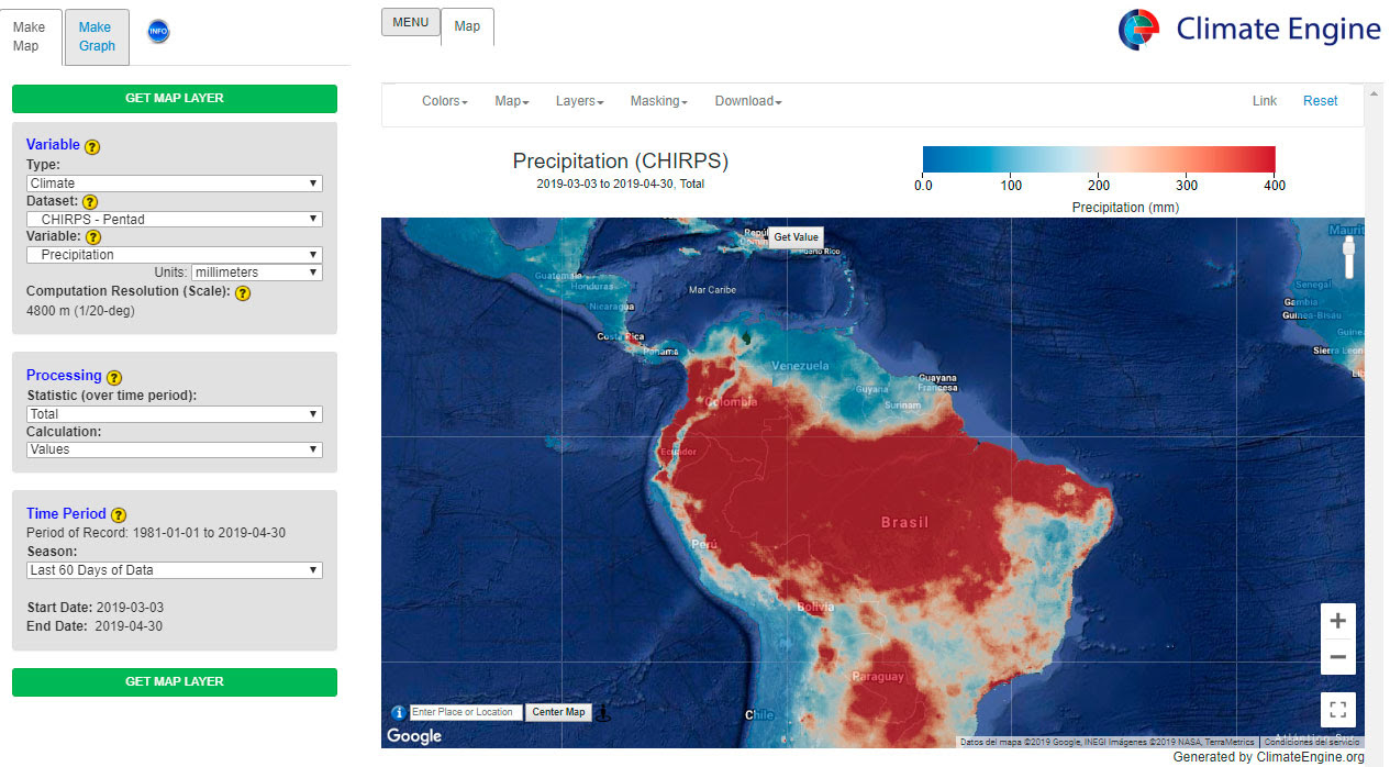 Download global climate data