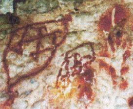 lukisan tangan pertama