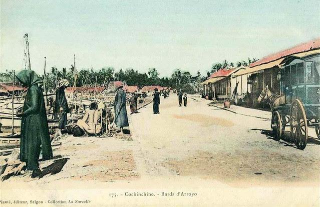 COCHINCHINE - BORDS D' ARROYO