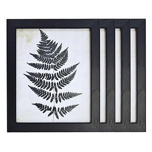 Basic Black 8x10 Picture Frames Set Of 4 Kirklands