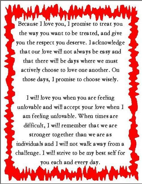 Vows, Wedding vows and Sample wedding vows on Pinterest