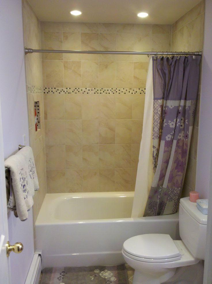 Guest bath : bathroom tub surround tile