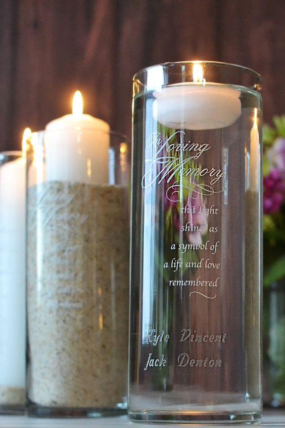 Unique Wedding Memorial Ideas: In Loving Memory | DIYs