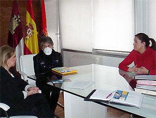 Rosa Romero con Carmen Lozano