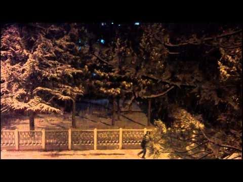 Bozkır'da Kar Manzaraları 07.01.2012 Mobil Çekim