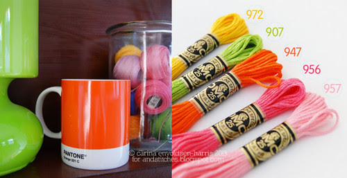Colour inspiration - &Stitches
