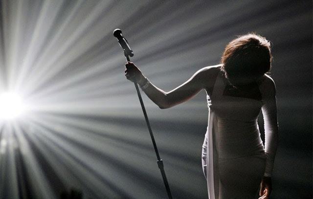 Houston, durante una actuación en 2009. | Reuters