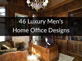 luxury mens home office designs youtube
