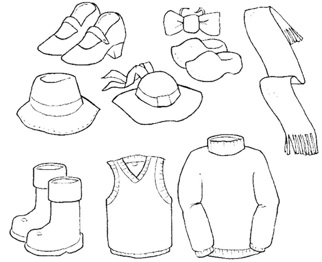Download Boys Clothes Coloring Pages - Coloring Pages For All Ages - Coloring Home