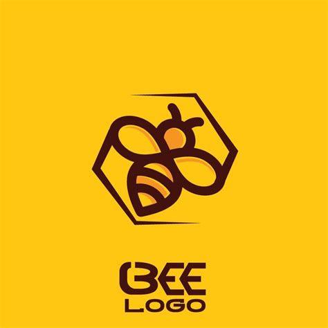 bee logo  vector logo bee bee icon honey logo