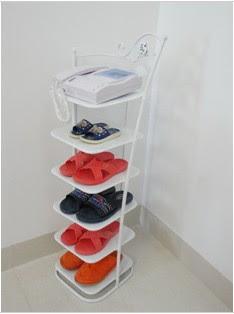 Shoe rack/iron shoe rack/shoe rack door shoe rack versatile shoe ...