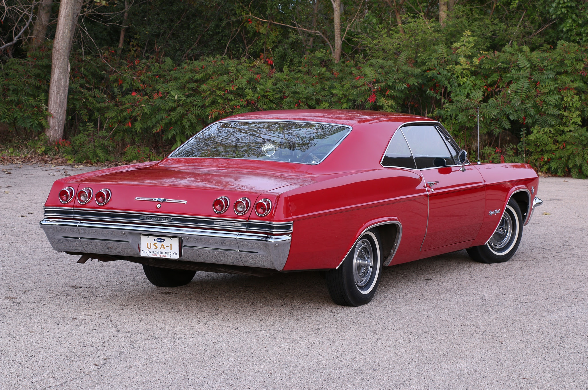 Immaculate Unrestored 1965 Chevrolet Impala Ss Shows Just 11 000 Miles Hot Rod Network Bmw Vision Hyundai Racing Lexus Is Blogspot Com