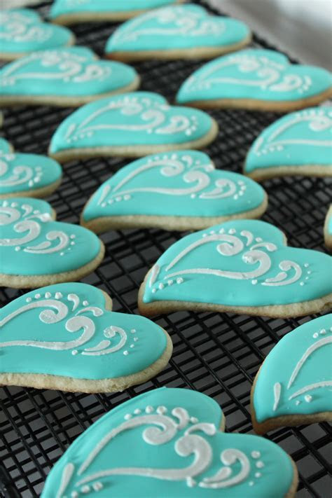 Tiffany Blue Inspired Cookies   Lil' Miss Cakes