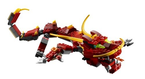 Jeux de construction lego 6751 jeu de construction - Lego ninjago dragon a 4 tetes ...