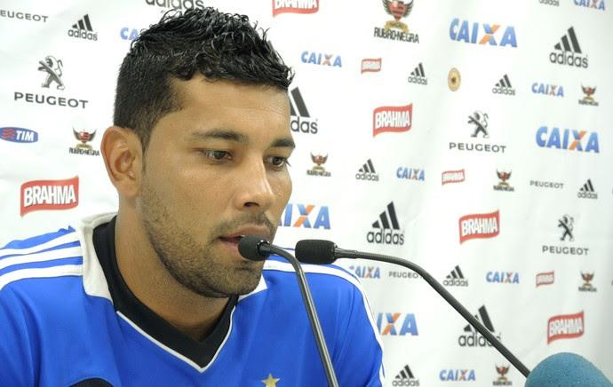 André Santos Treino Flamengo (Foto: Carlos Mota)