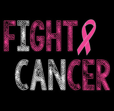 Download I Can Fight Cancer Awareness Short Sleeve Pink Ribbon T ...