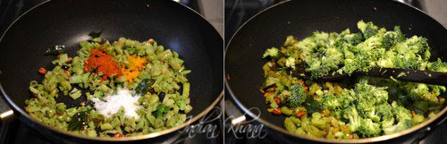 Broccoli-Beans-Stirfry-Thoran-Poriyal-Broccoli-Recipe