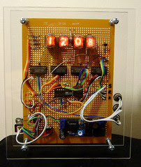 Nixie Clock #2 Front view