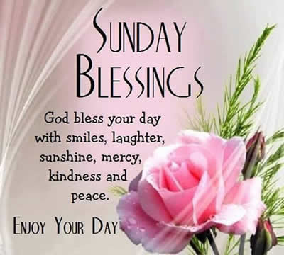 Sunday Blessings Quotesmessages Inspirational Quotes Pictures