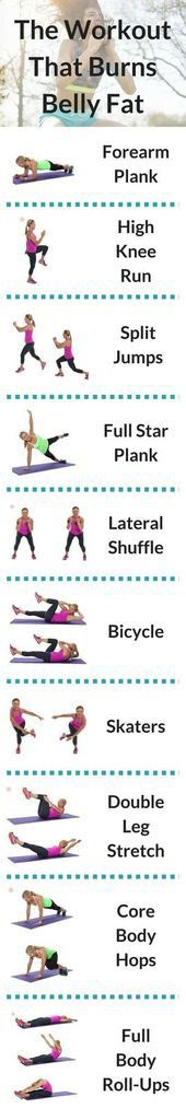 How To Burn Belly Fat With Home Exercises
