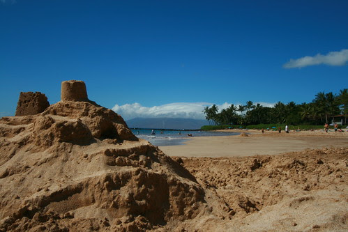 Sandcastle at White Rock Beach by gina.blank