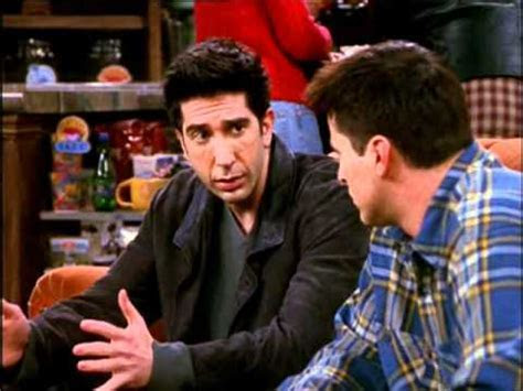 Friends Moments   Ross and Joey are dating the same person