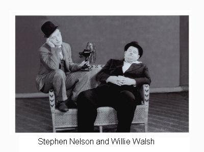 Stephen Nelson and Willie Walsh
