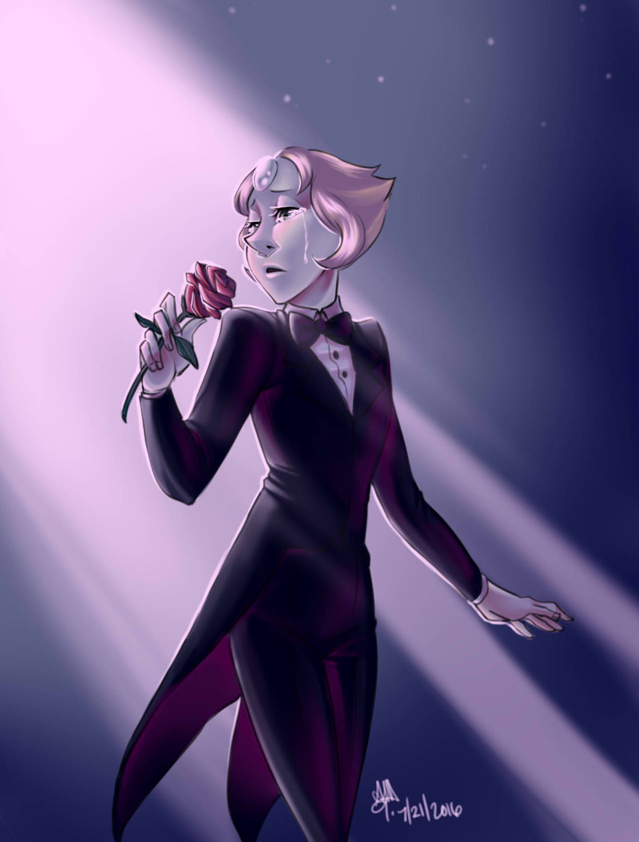 Can someone please give this woman a Grammy? Her voice is amazing and this song has got to be my favorite out of the entire series. I rarely get emotionally attach to Steven Universe but this song was...