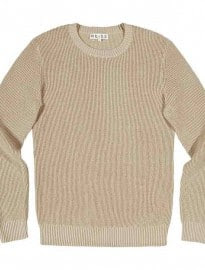 Reiss Jay Mid Weight Waffle Jumper Oatmeal