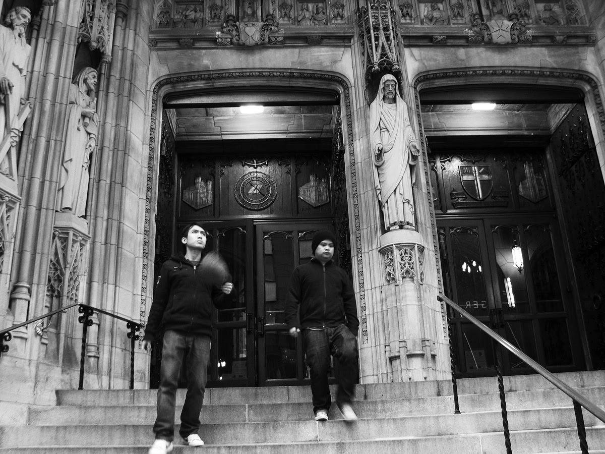 Church Entrance, NYC