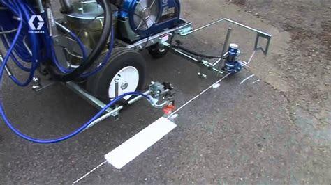 linelazer yol cizgi makinasi road marking machine