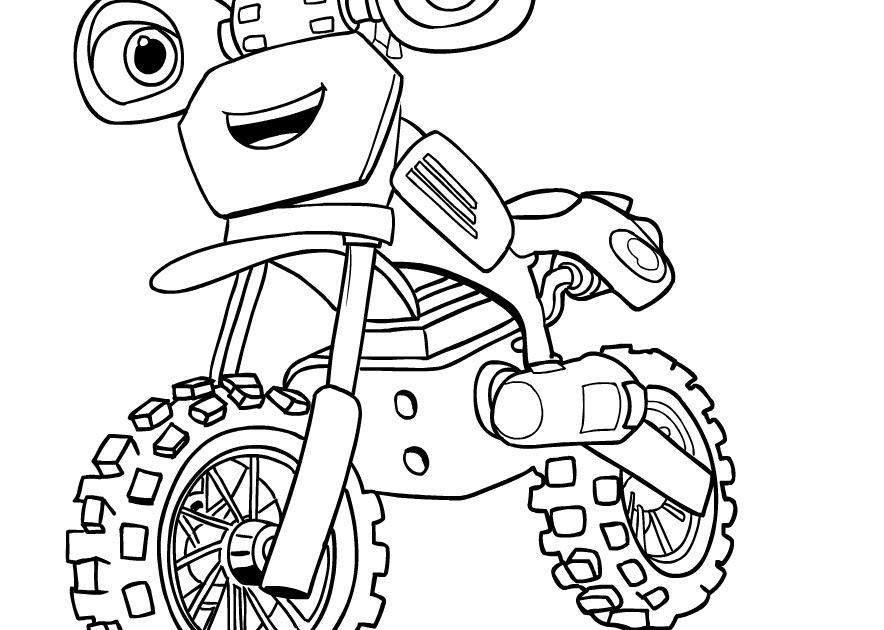 Disegni Motocross Da Colorare E Stampare Immagini