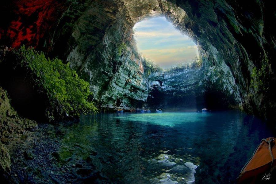 Λιμνοσπήλαιο Μελισσάνης, Κεφαλονιά, Ελλάδα