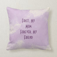 Mom Friend Quote Pillows