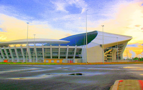 Football Stadium 1 by UmmAbdrahmaan :).