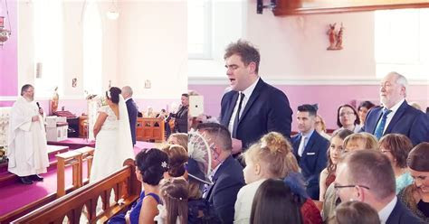 Singing Flash Mob Surprises Bride and Groom with Classic