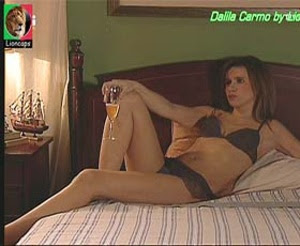 Dalila Carmo sensual nas novelas Tempo Viver e A Prisioneira