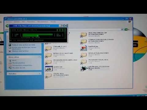 Mira como USB File Resc elimina el virus de los accesos directos (Recycler)