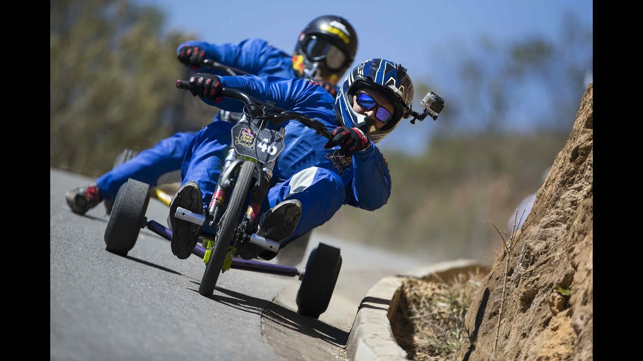 High Speed Downhill Trike Racing Youtube
