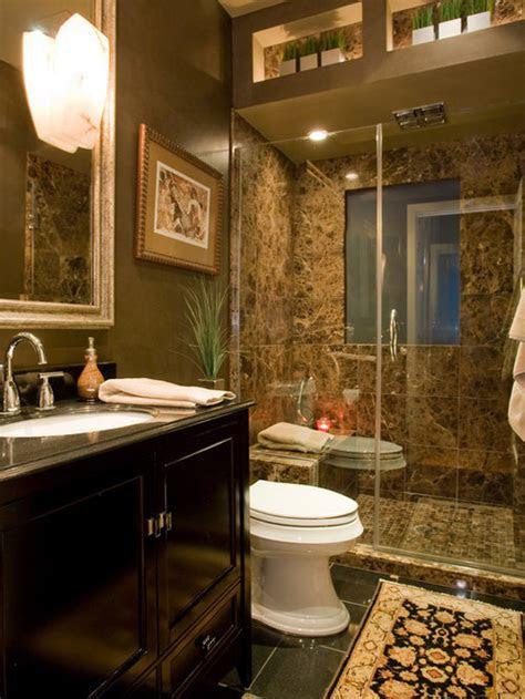 brown bathroom home design ideas pictures remodel  decor