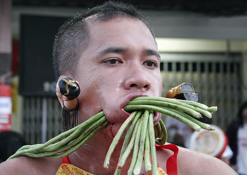 Well, it is called the Vegetarian Festival