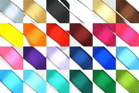 yard satin ribbon rolls   colors sizes