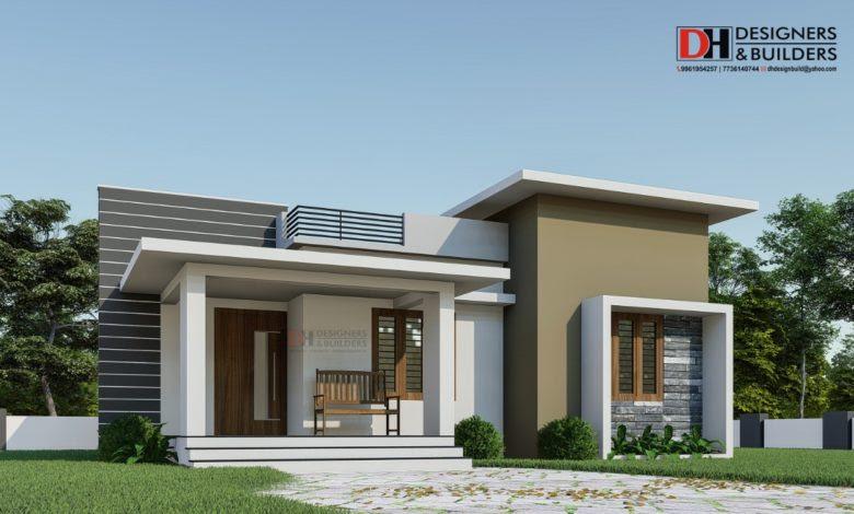 Minimalist House Design House Design Single Floor 2 Bedroom