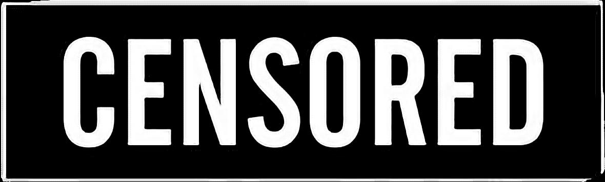 censored - Sticker by littleflower609