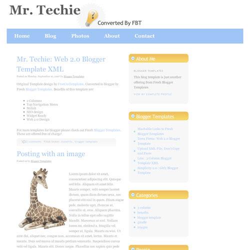 50 (Most) Beautiful Blogger Templates