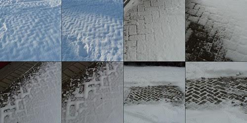 snow pattern mystery