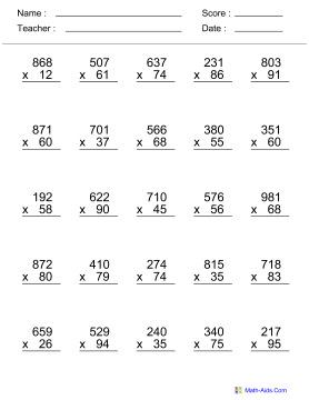 Number Names Worksheets : grade 4 math worksheets printable ~ Free ...