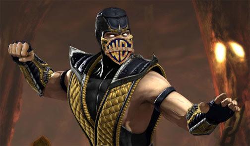 mortal kombat scorpion pictures. sequel to MK vs DC has